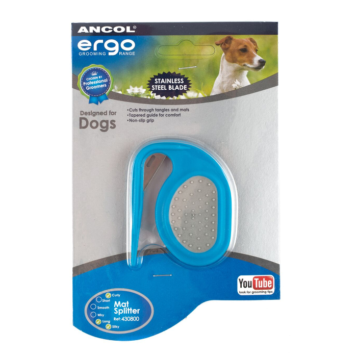 Ancol-Dog-Grooming-Brush-Comb-Slicker-Rake-Pads-Scissors-Nail-Files-Clippers thumbnail 23
