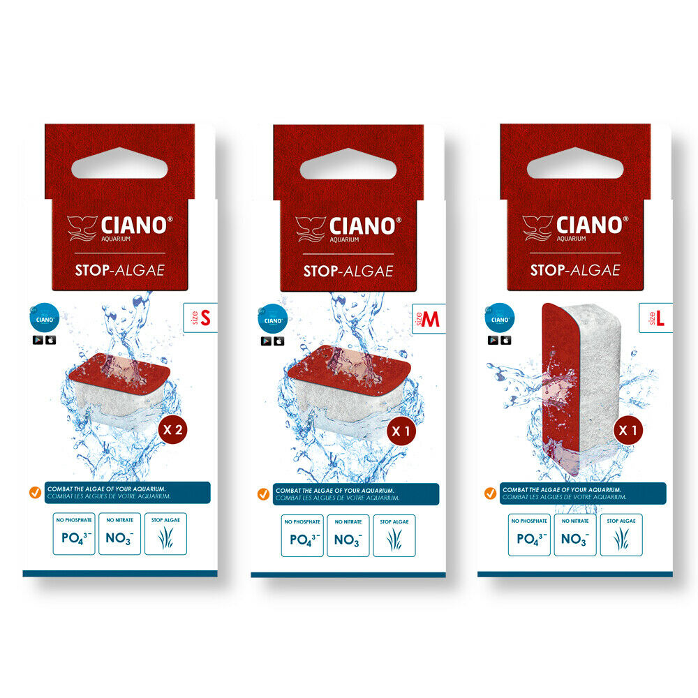 STOP ALGAE LARGE Ciano LARGE Filter Media Cartridge for CFBIO150 /& CFBIO250
