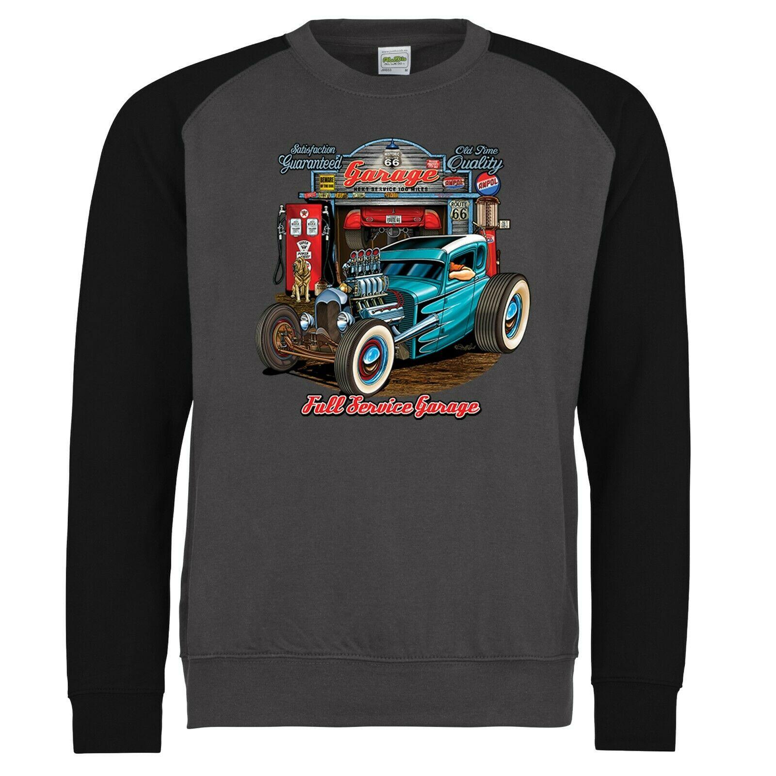 Homme Hotrod 58 Hot Rod T Shirt American Speed Demon Muscle Garage Rockabilly 70