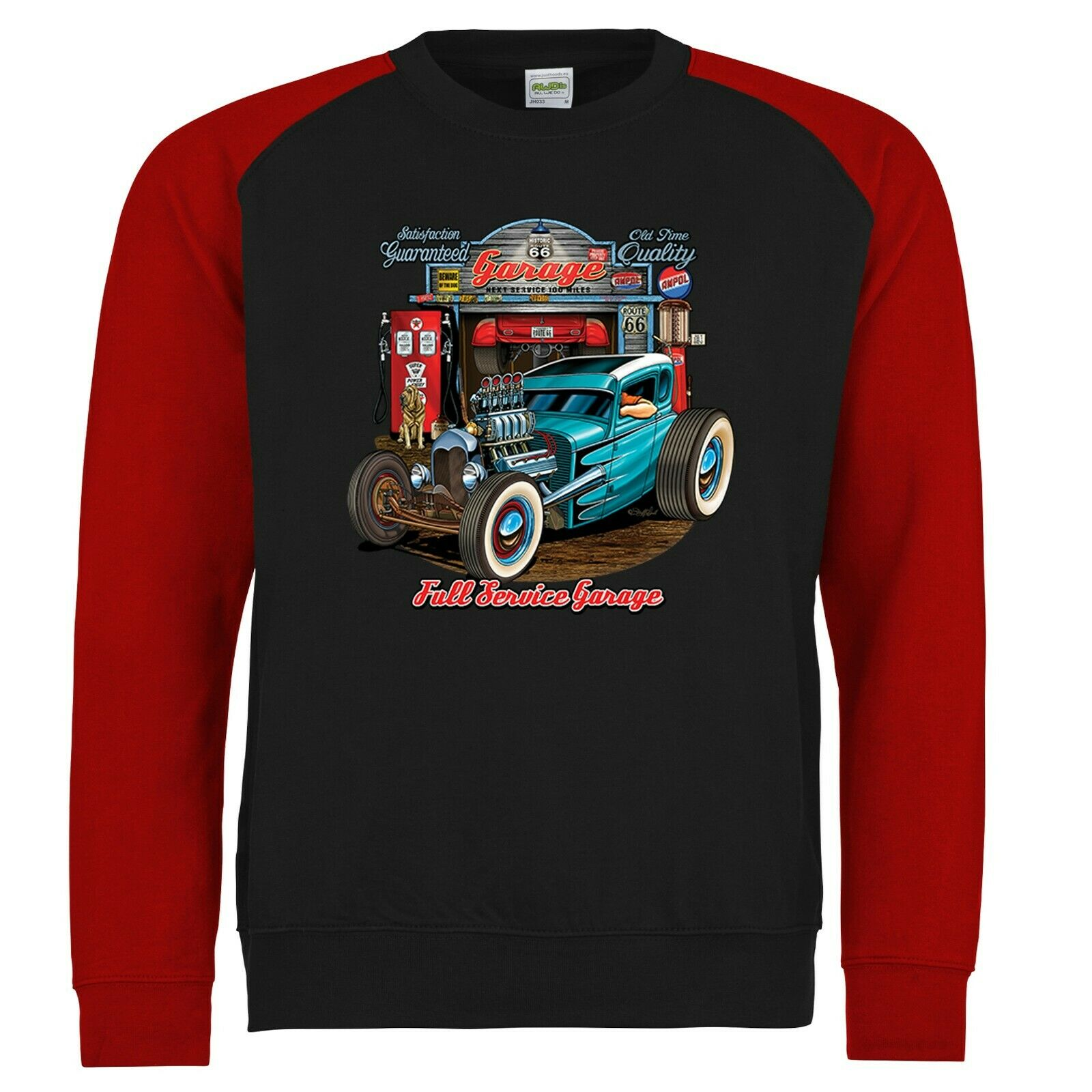 Mens Hotrod 58 Hot Rat Rod Polo T Shirt American Vintage Iron Custom Car 36