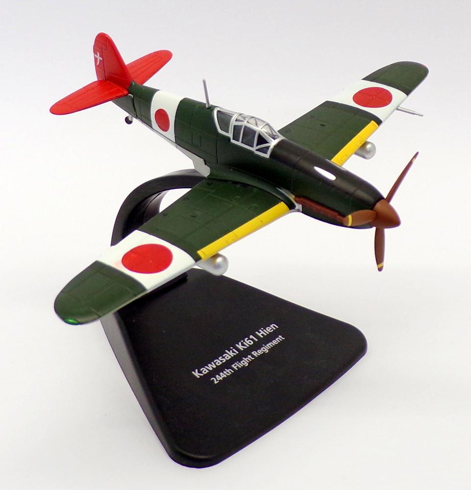 Oxford die cast Herpa 1:72 Kawasaki Ki-61 Hien 244th Flight Chofu Airfield 1945