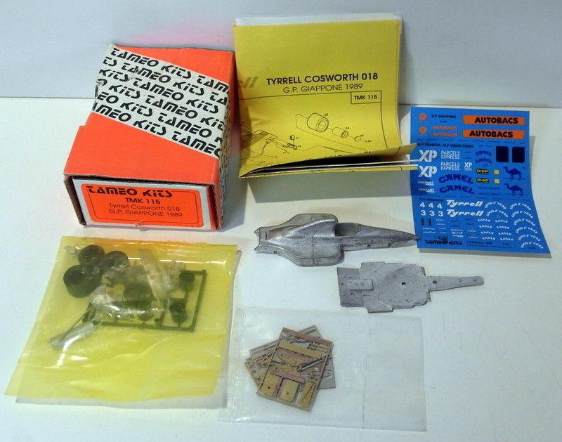 ZAKSPEED Zk881 GP MONACO 1988 TAMEO KITS IN METALLO 1//43
