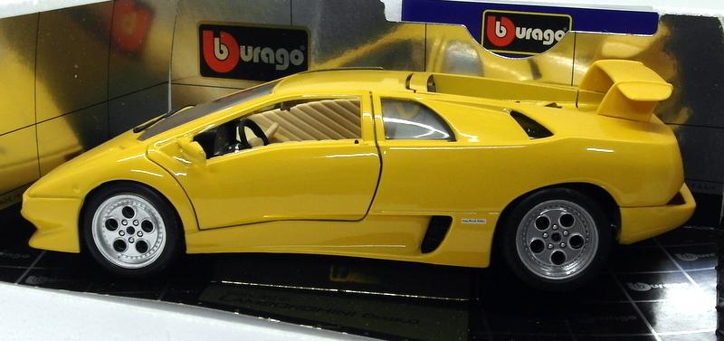Lamborghini Diablo 1990 >> Details About Burago 1 18 Scale Diecast 3041 Lamborghini Diablo 1990 Yellow