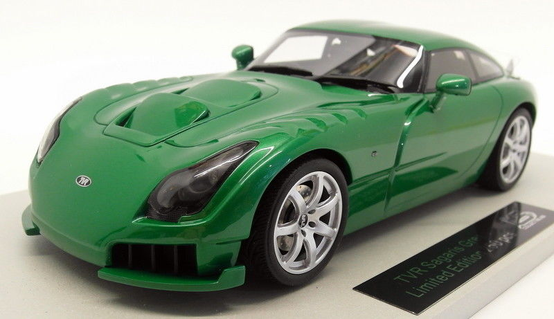 1 of 250-ls Collectibles TVR Sagaris 2005-verde 1:18 ls008a