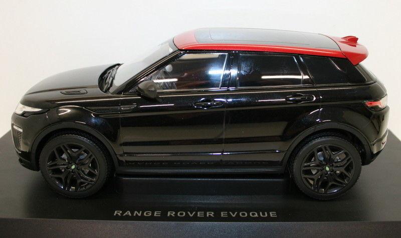 RANGE ROVER EVOQUE EMBER LTD ED SANTORINI BLACK 1//18 DIECAST KYOSHO C09549BK