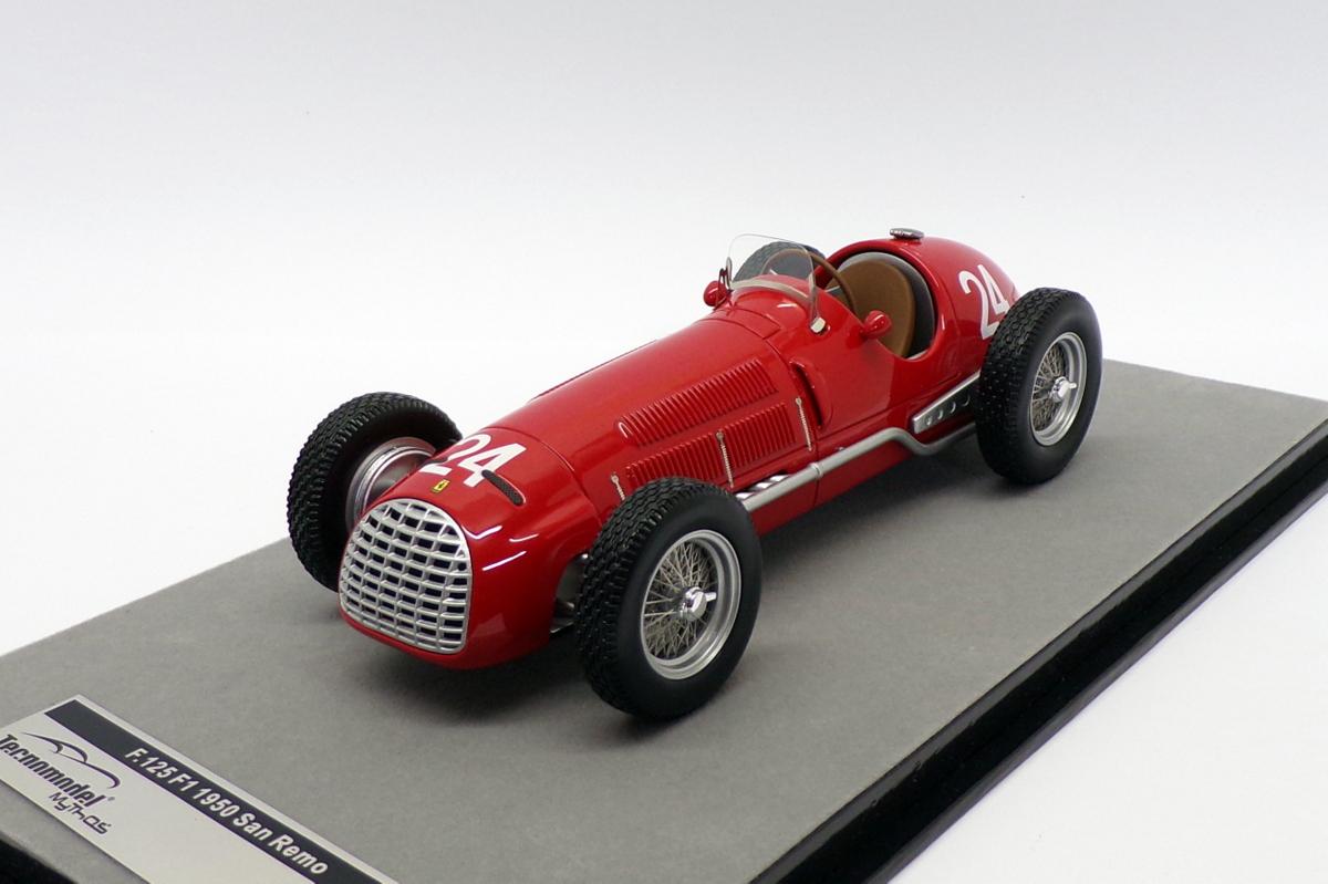 Tecnomodel 1 18 Scale Tm18 149d F1 Ferrari 125 24 Villoresi San Remo Gp 1950 Ebay