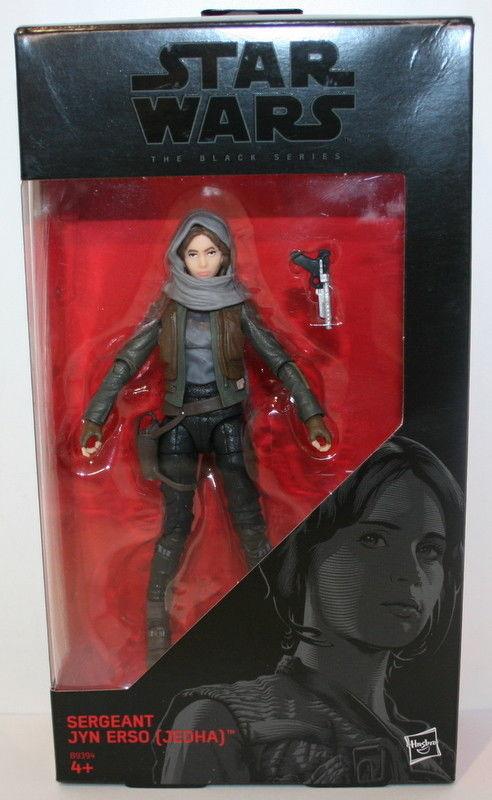 "#22 6/"" Action Figure BRAND NEW JEDHA Star Wars Black Series SERGEANT JYN ERSO"