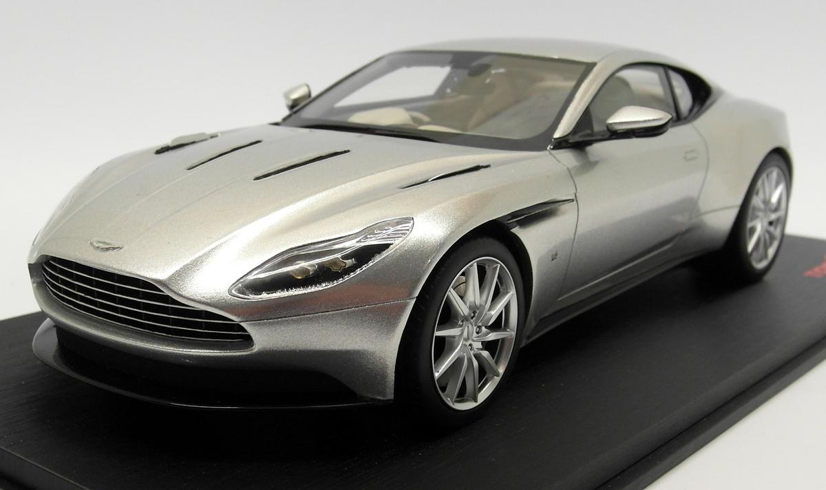Tsm Top Speed 1 18 Scale Ts0126 Aston Martin Db11 Lightning Silver Ebay