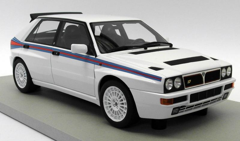 Lancia Delta Evo Martini 5 1993 White LS COLLECTIBLES 1:18 LS034B Modellbau