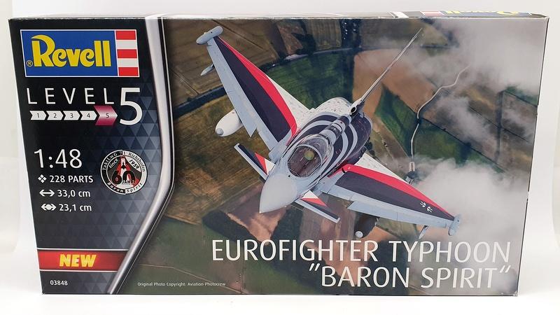 """Nuovo Revell 03848-1//48 Eurofighter Typhoon /"""" Baron Spirit /"""""""