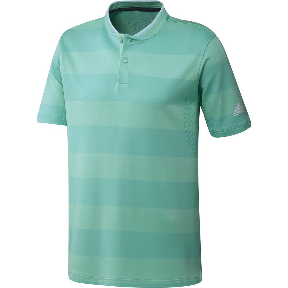 adidas Golf Primeknit Polo Shirt  - Bahia mint/acid mint