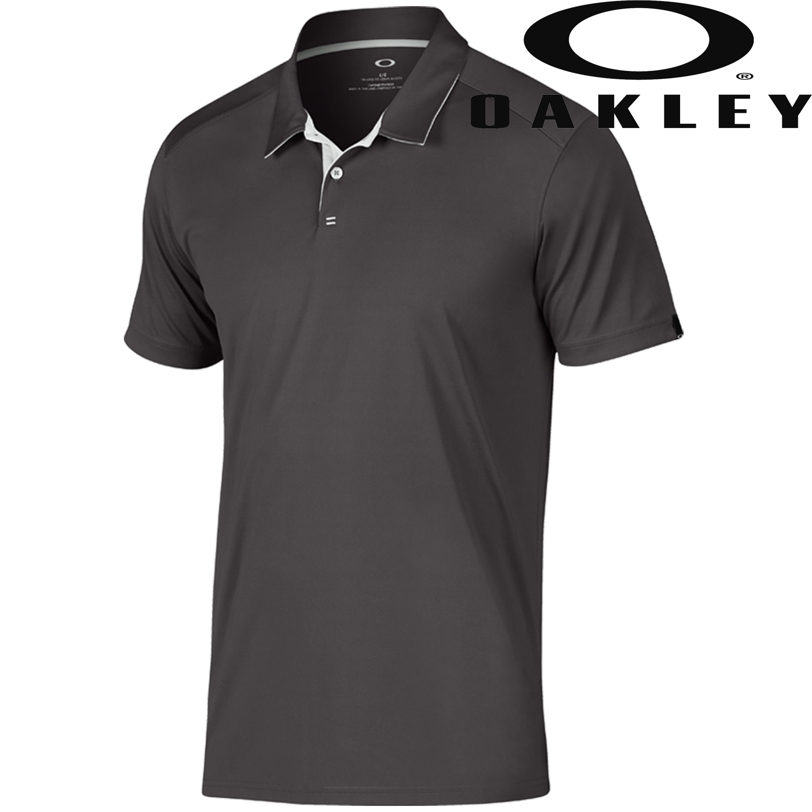 new 2018 oakley mens divisional performance tailored fit golf polo shirt ebay. Black Bedroom Furniture Sets. Home Design Ideas