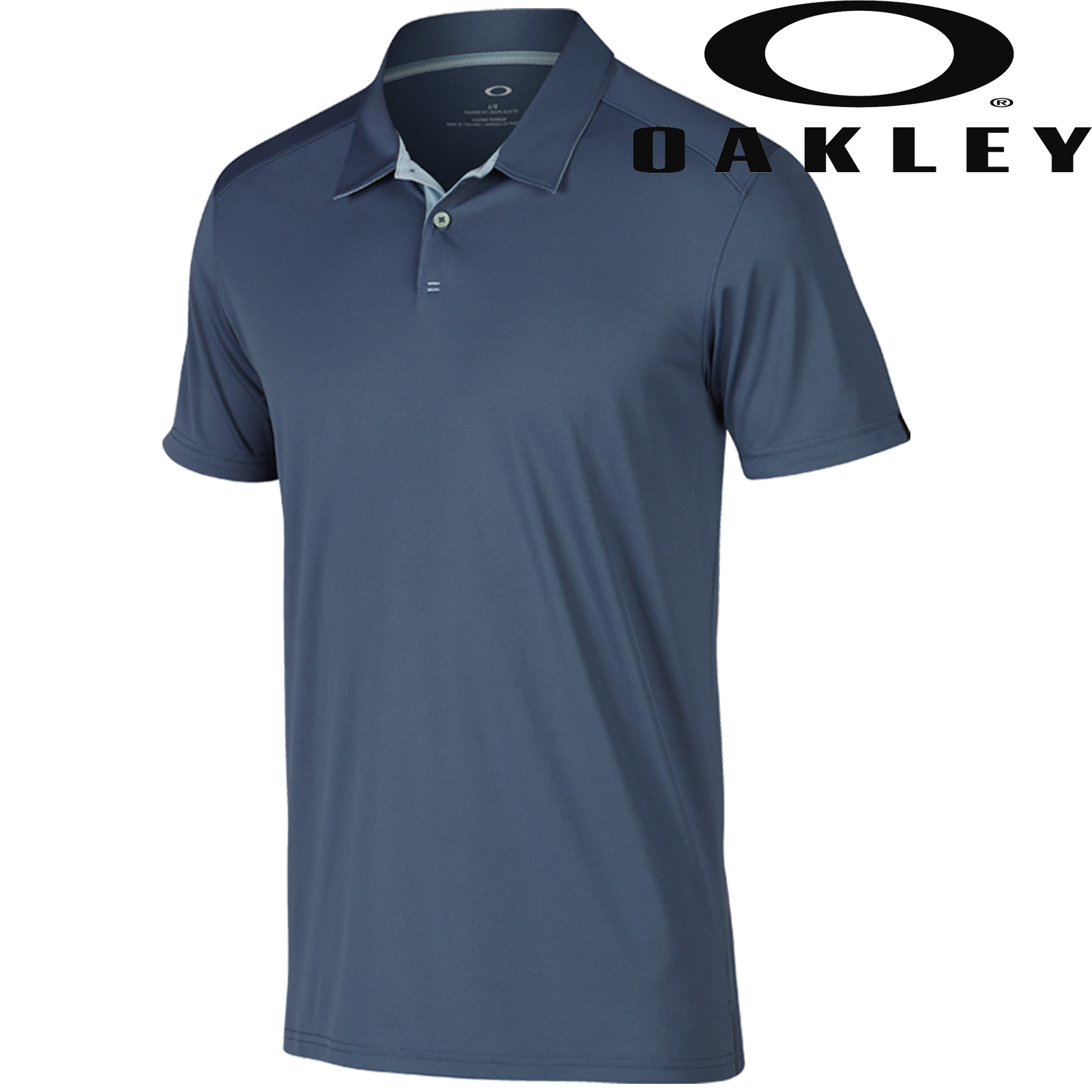 Oakley 2017 mens divisional performance golf polo shirt ebay for Polo golf performance shirt