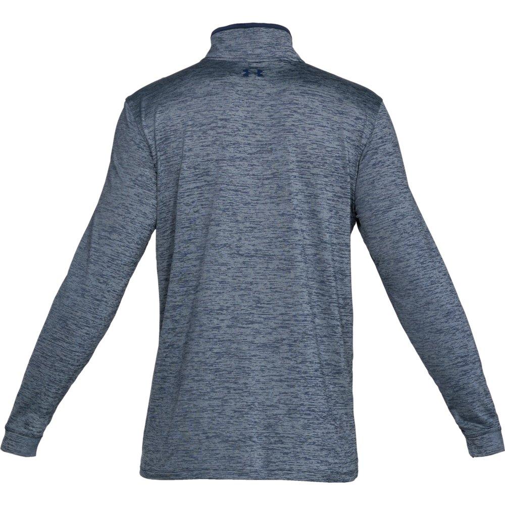 Under Armour Golf Playoff 2.0 1/4 Zip Mens Sweater  - Academy