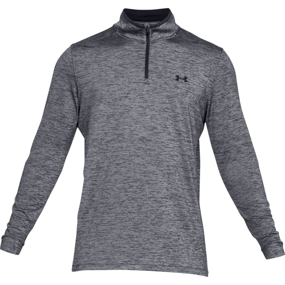 Under Armour Golf Playoff 2.0 1/4 Zip Mens Sweater  - Black