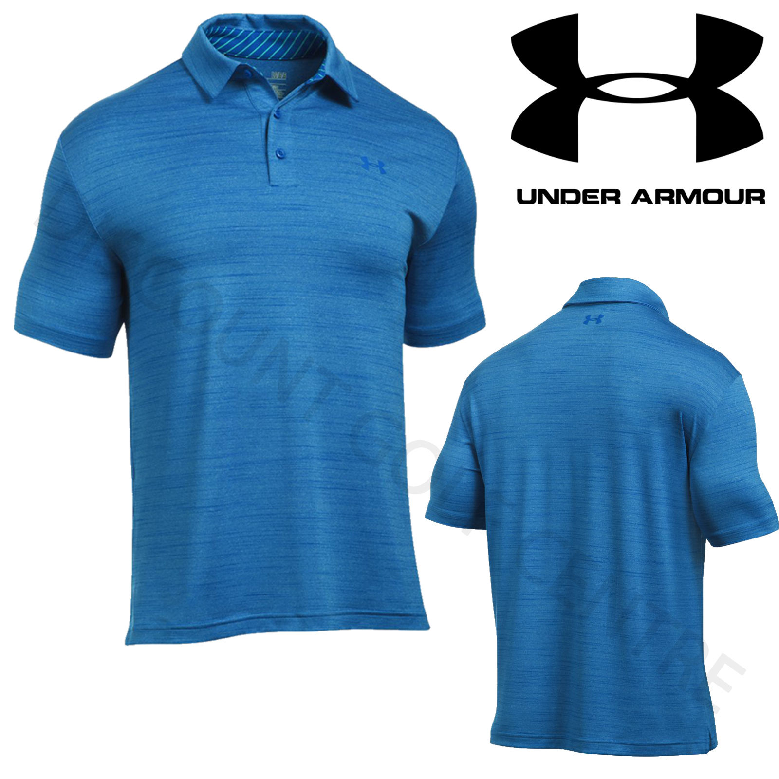 Under Armour Polo Playoff pour homme XXL White/Steel (112) 3wFZD