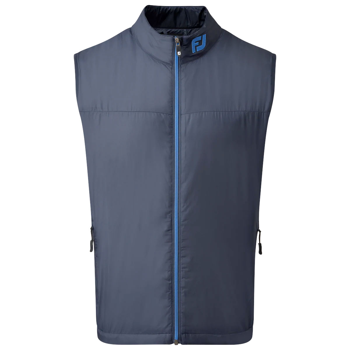 FootJoy Lightweight Thermal Insulated Vest Gilet  - Navy/Lagoon