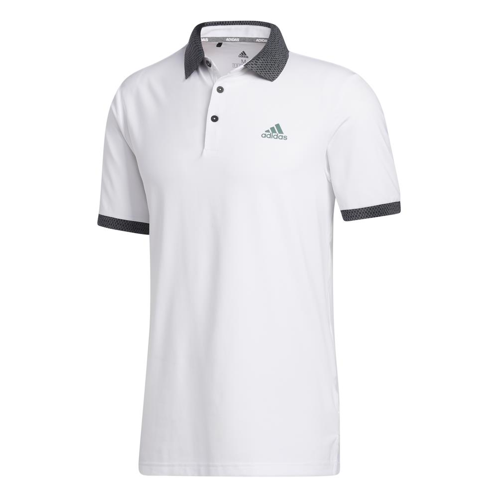 adidas Golf Mens Ultimate365 Delivery Polo Shirt  - White