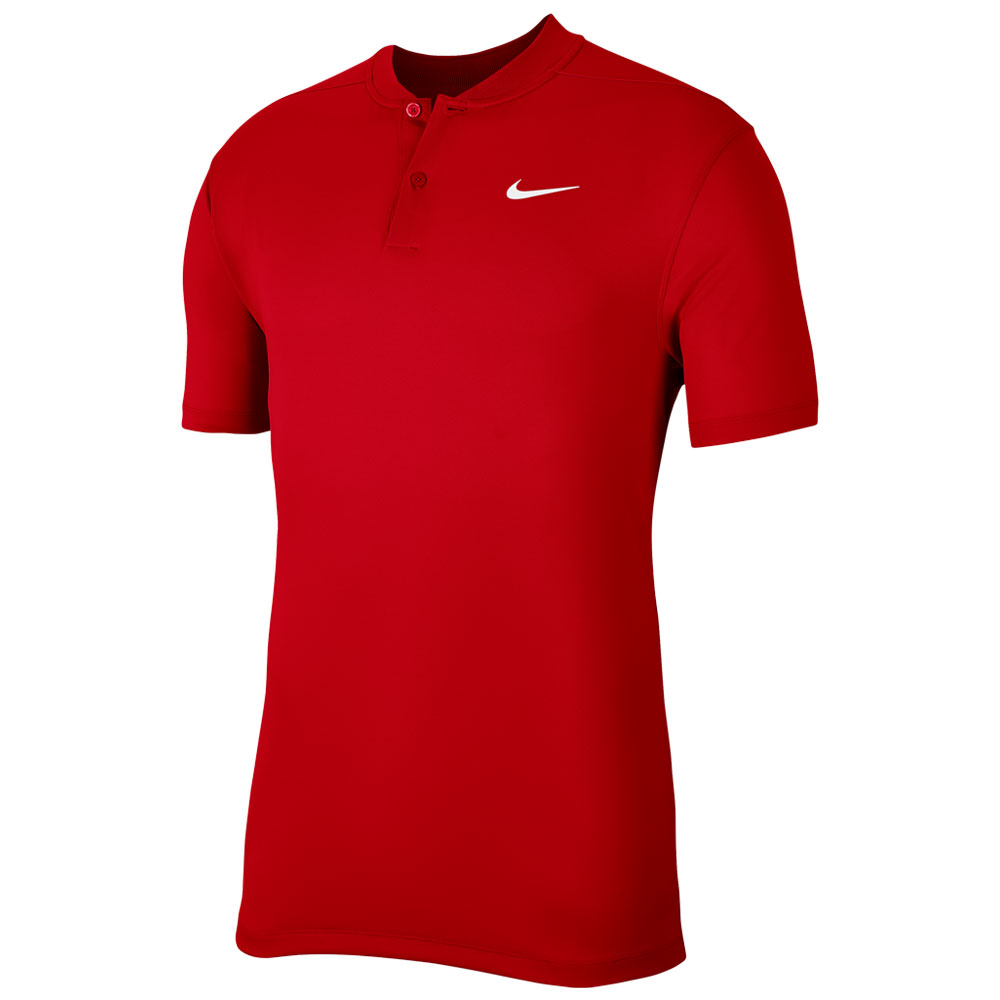 Nike Golf Dry Victory Blade Golf Polo Shirt  - University Red