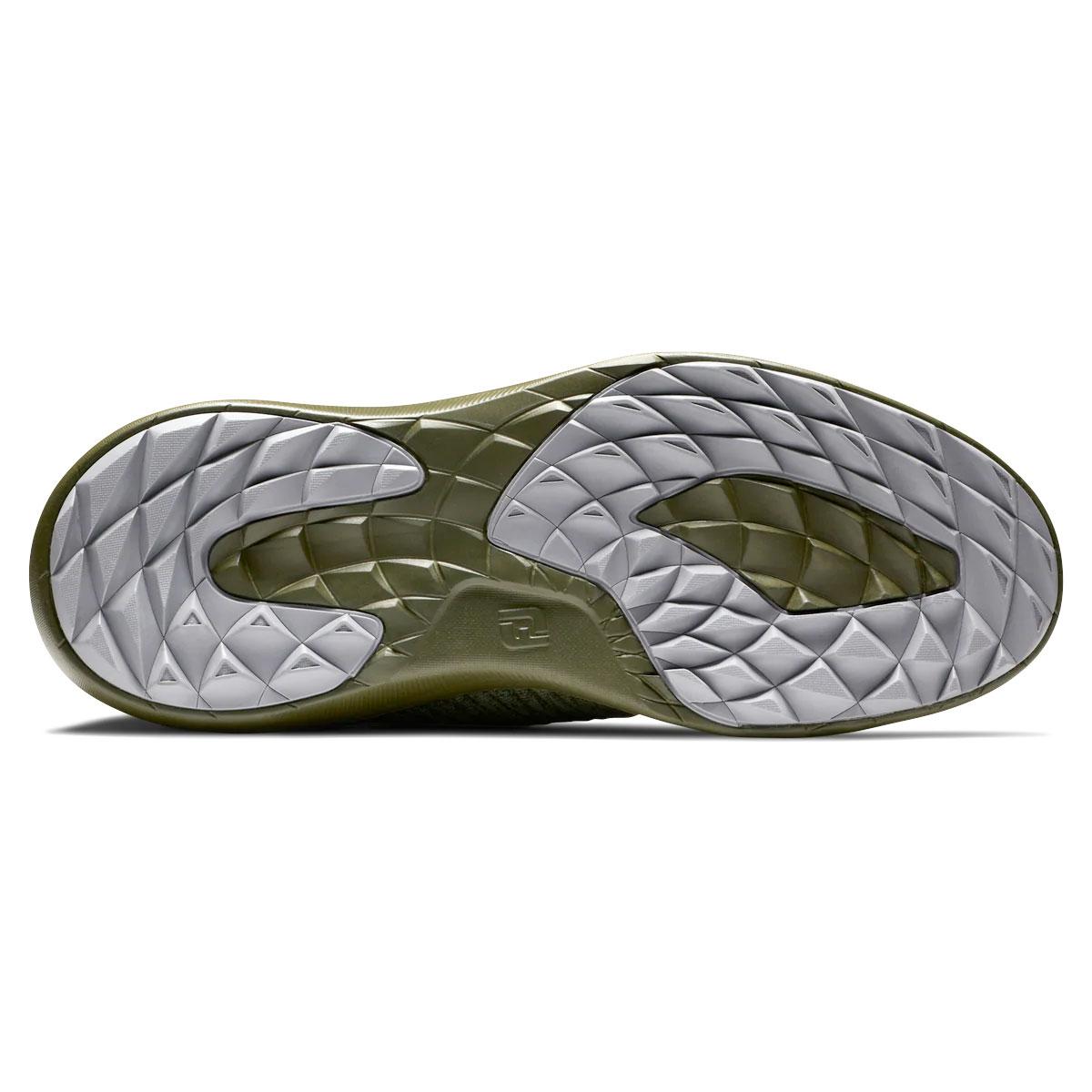 FootJoy Flex XP Mens Spikeless Golf Shoes  - Green