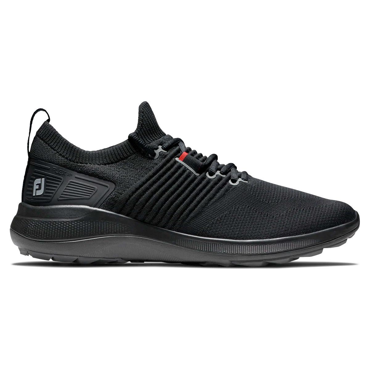FootJoy Flex XP Mens Spikeless Golf Shoes  - Black