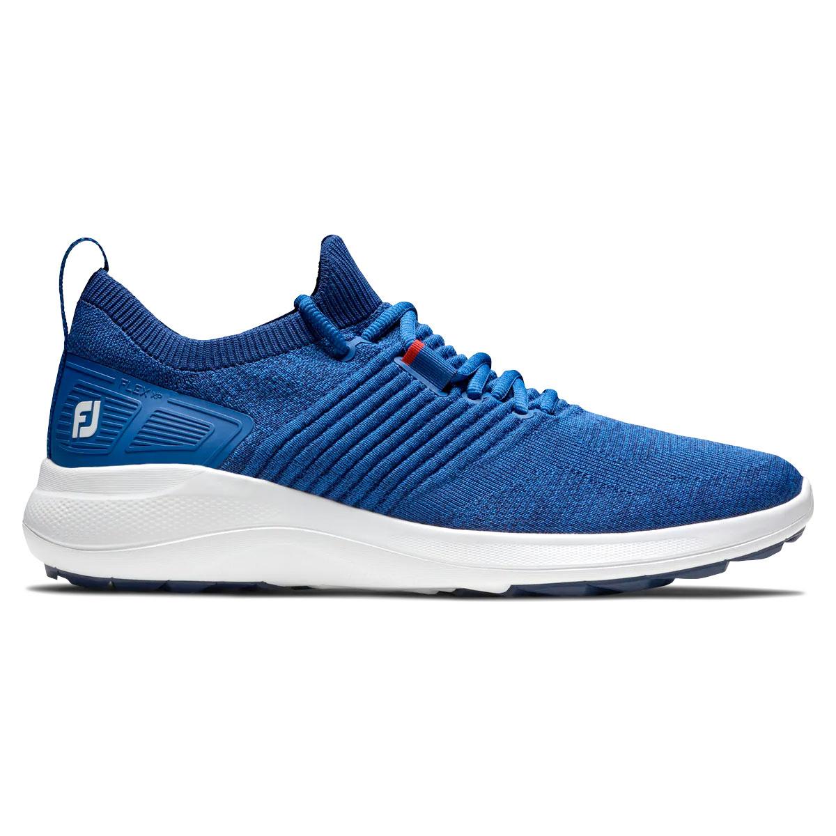 FootJoy Flex XP Mens Spikeless Golf Shoes  - Blue