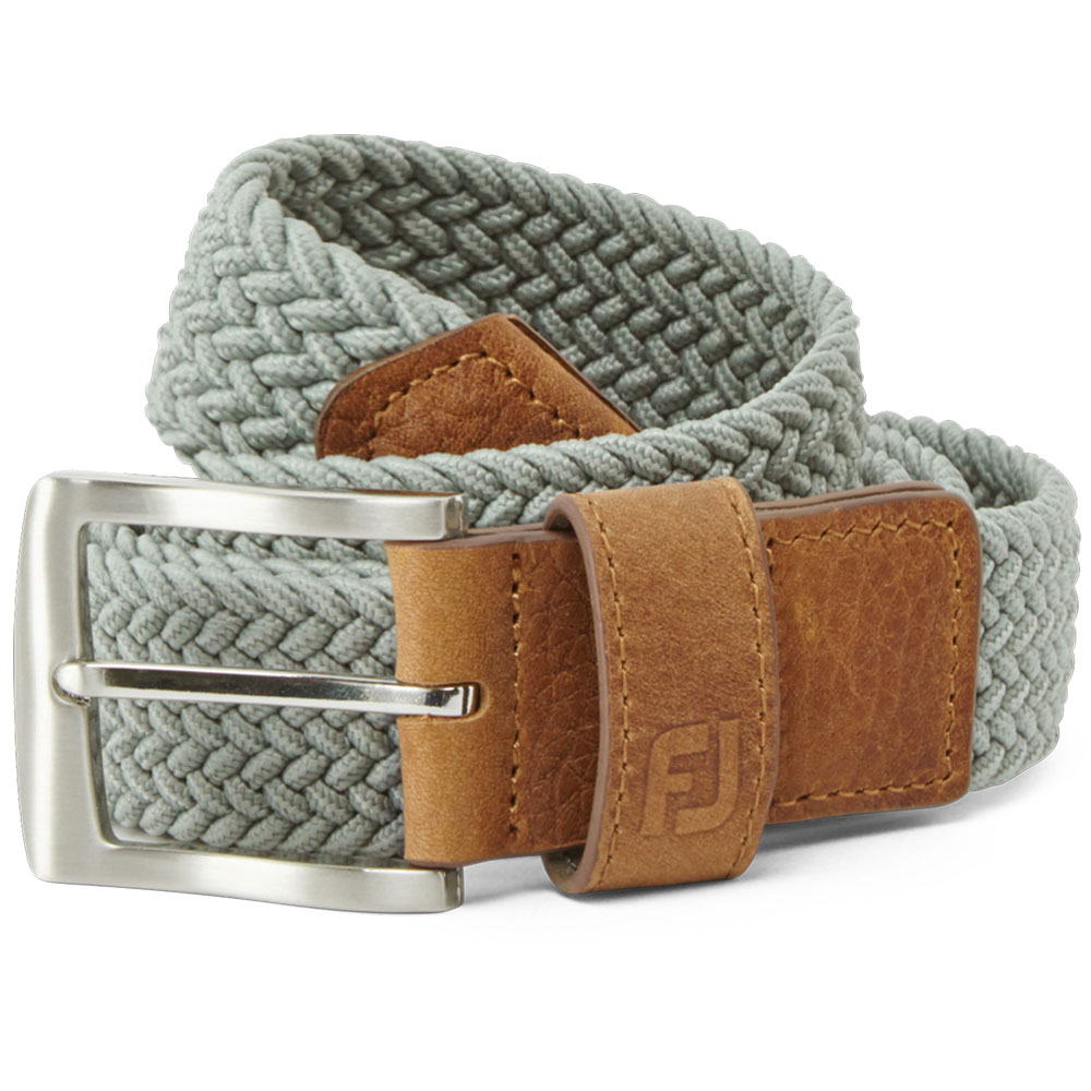 FootJoy Golf FJ Braided Belt  - Grey