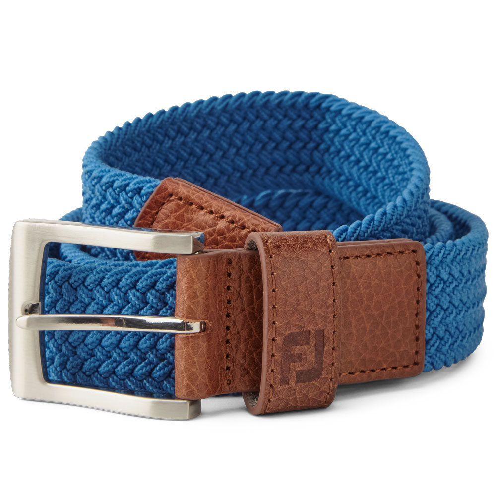 FootJoy Golf FJ Braided Belt  - Royal