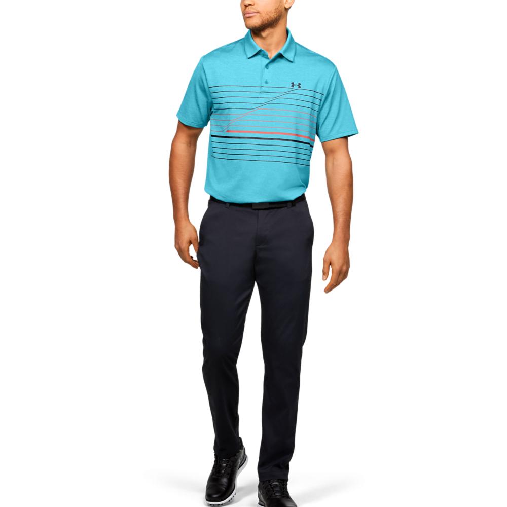 Under Armour Mens PlayOff Hero Graphic Golf Polo Shirt