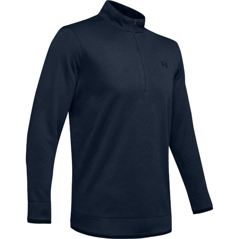 Under Armour Golf UA SweaterFleece  Mens 1/2 Zip Sweater  - Black