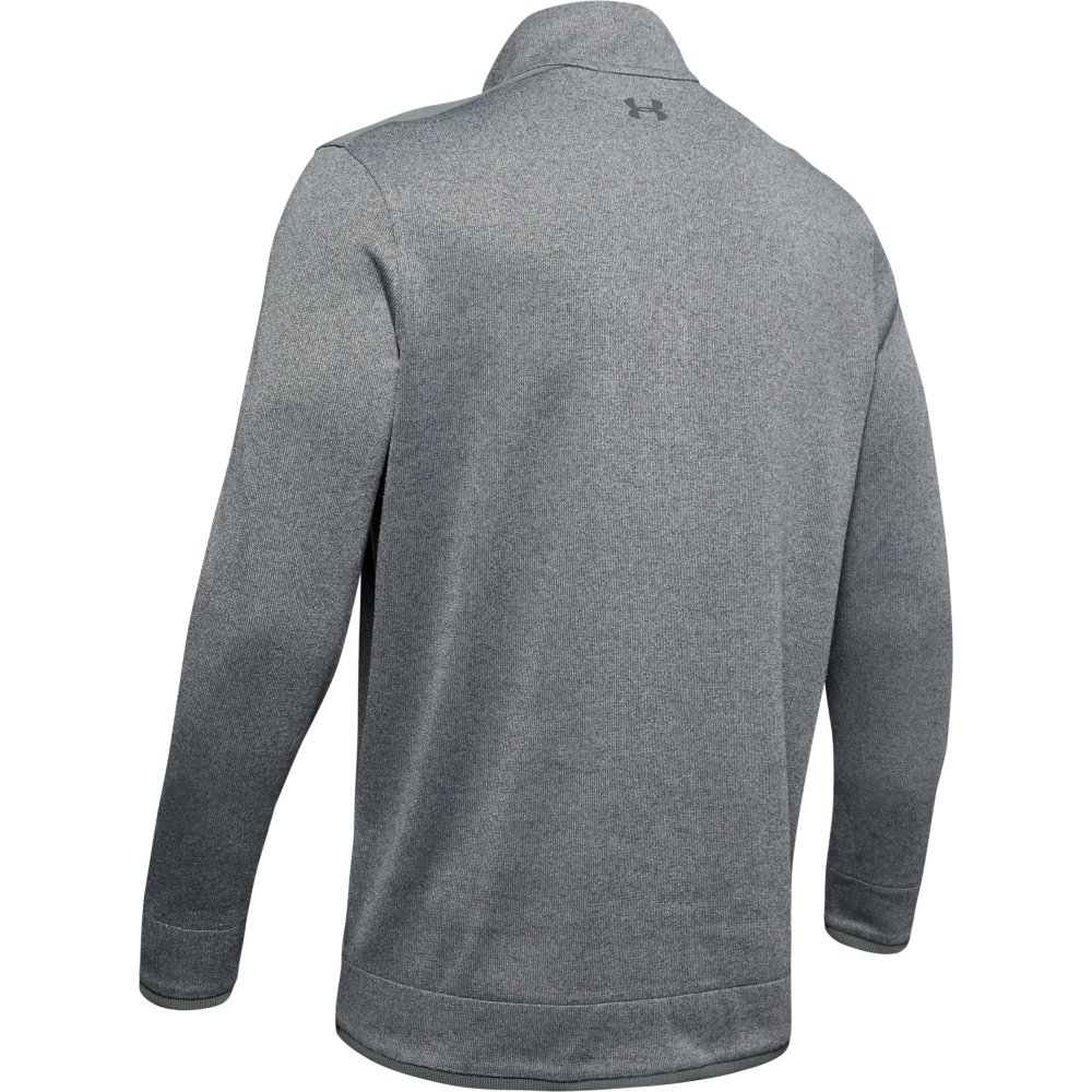 Under Armour Golf UA SweaterFleece  Mens 1/2 Zip Sweater  - Pitch Grey