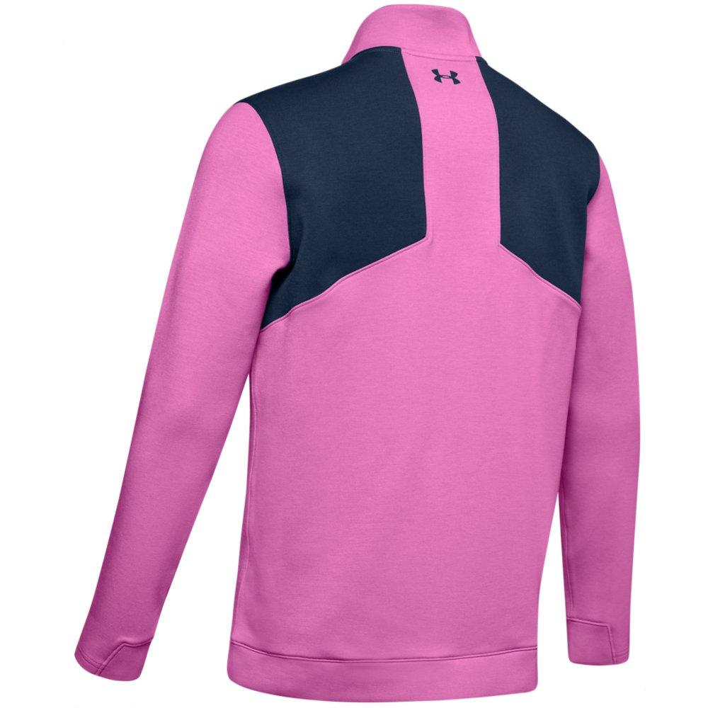 Under Armour Golf UA Storm PlayOff 1/2 Zip Golf Sweater  - Optic Purple/Academy