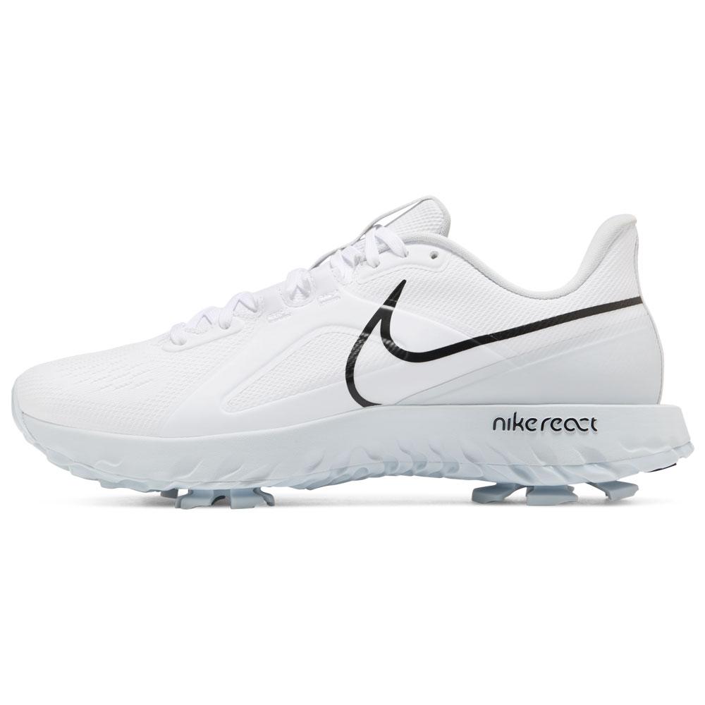 Nike React Infinity Pro Waterproof Golf Shoes  - White/Black/Platinum