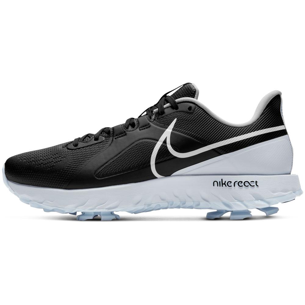 Nike React Infinity Pro Waterproof Golf Shoes  - Black/White/Platinum