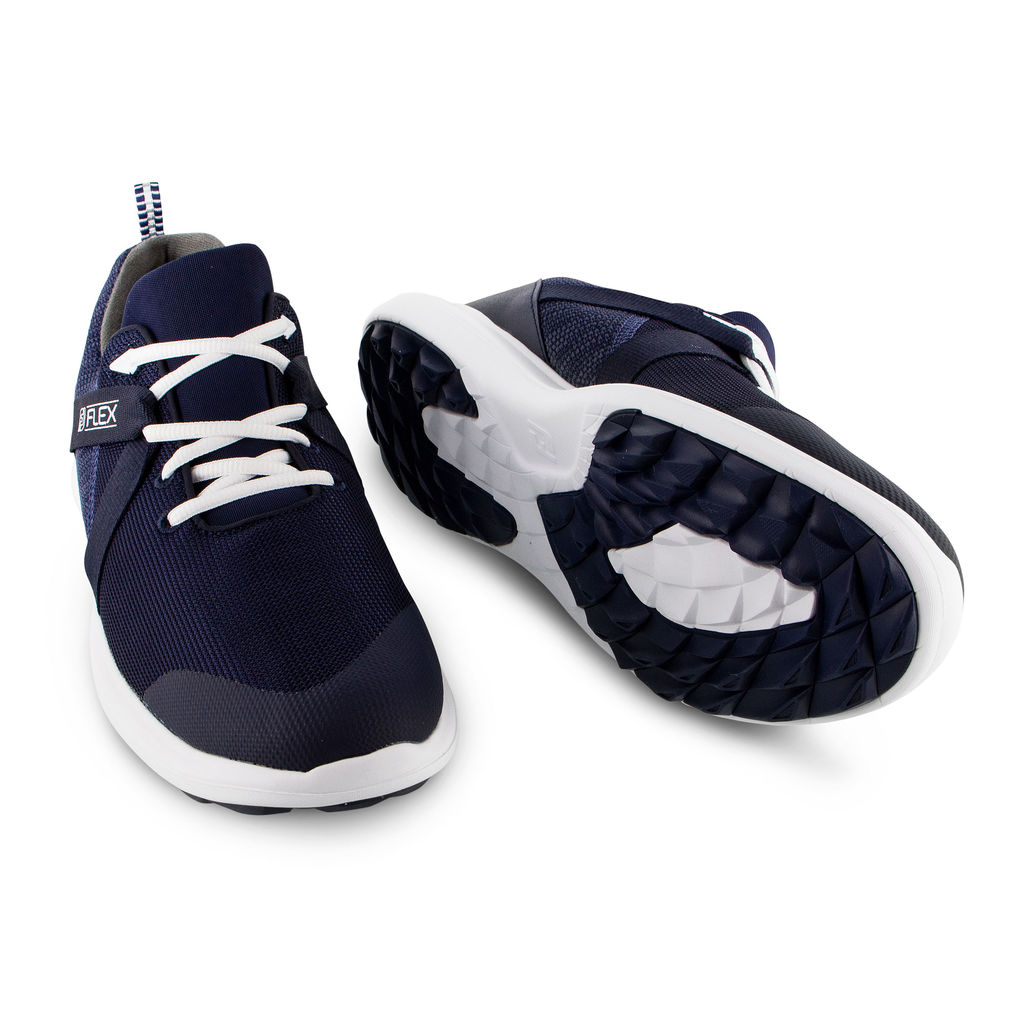 FootJoy Flex Lightweight Mesh Spikeless Mens Golf Shoes  - Navy