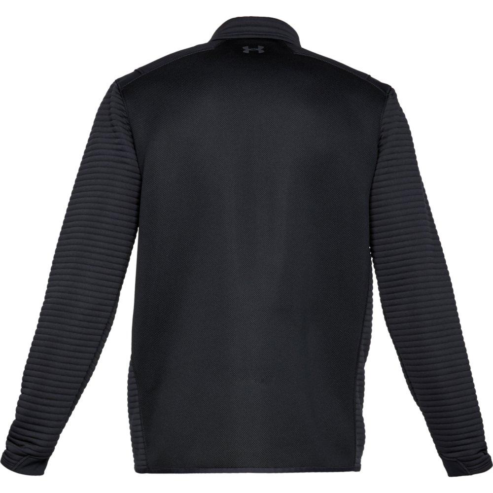 Under Armour Golf UA Storm Daytona Mens 1/2 Zip Sweater  - Black