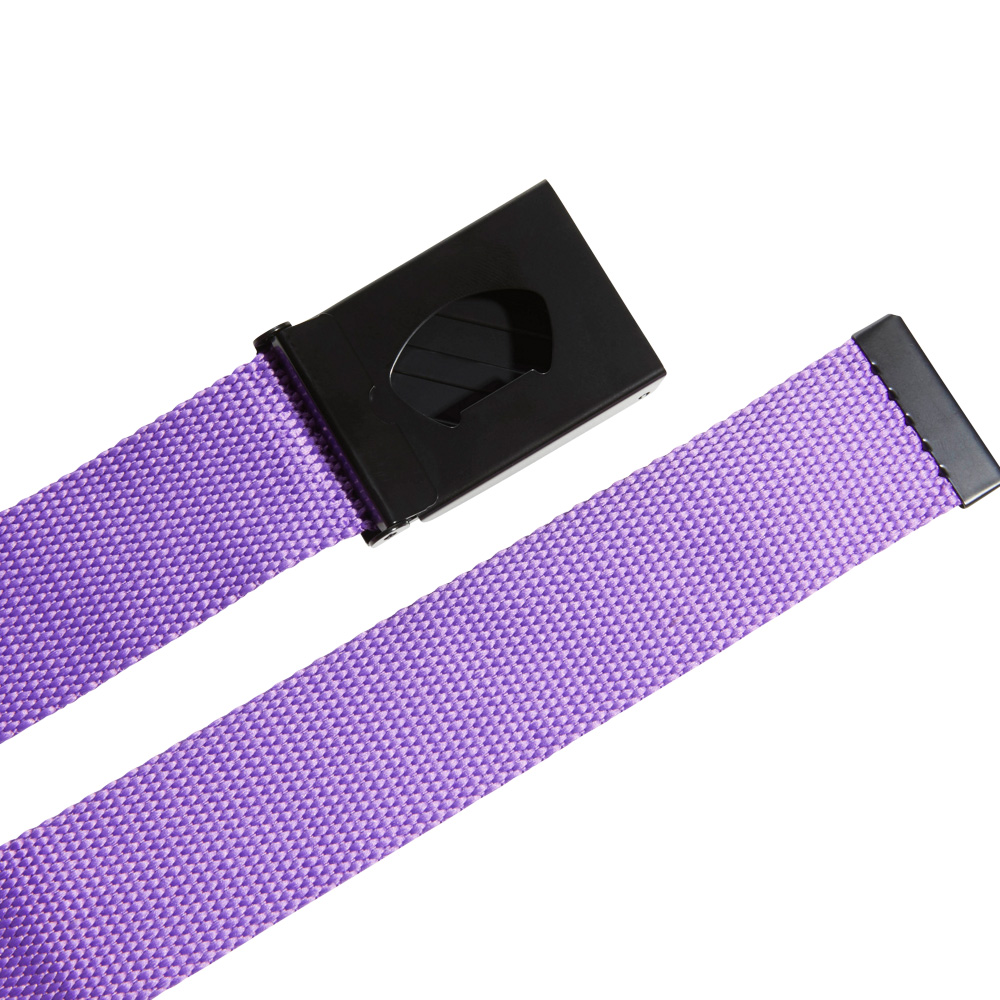 adidas 3-Stripes Buckle Webbing Golf Belt  - Active Purple