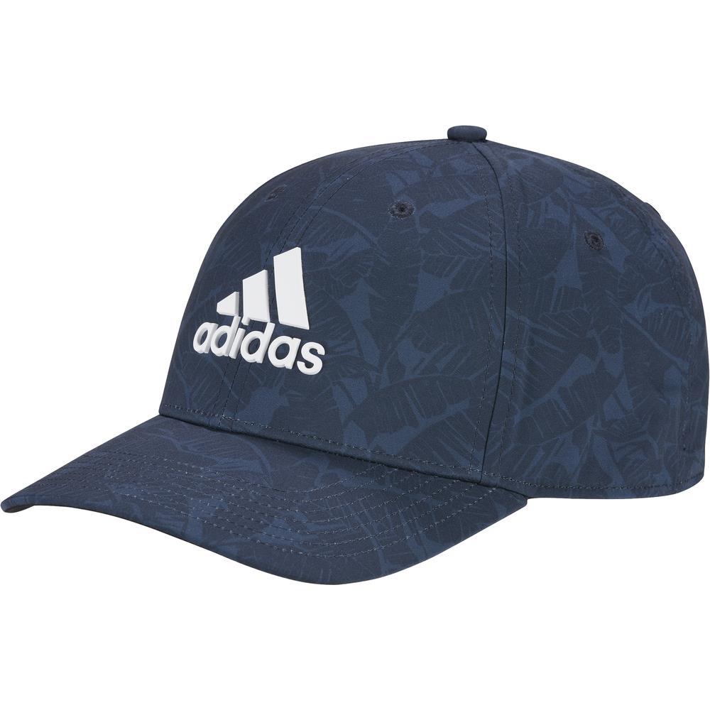 adidas Golf Tour Print Hat Mens Baseball Cap  - Crew Navy