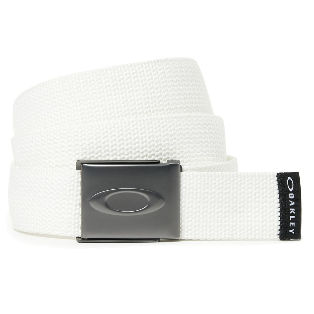 Oakley Golf Ellipse Mens Webbing Belt  - White