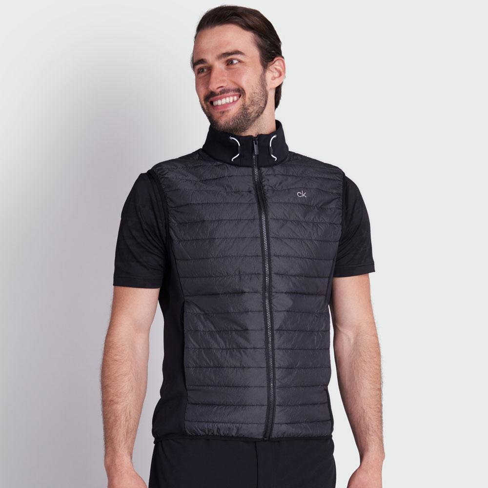 Calvin Klein Mens Wrangell Hybrid Golf Gilet