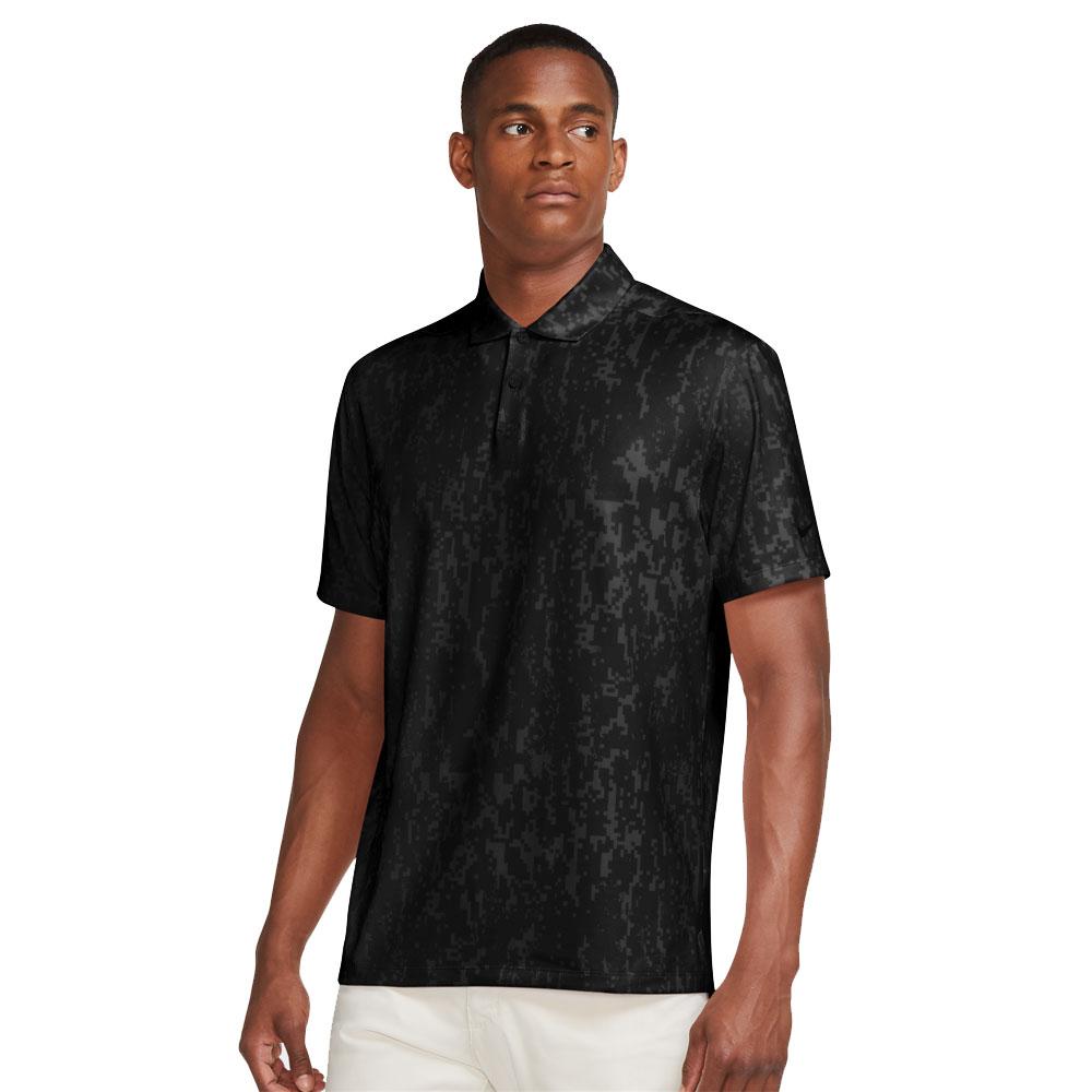 Nike Dri-Fit Vapor Golf Polo Shirt  - Black
