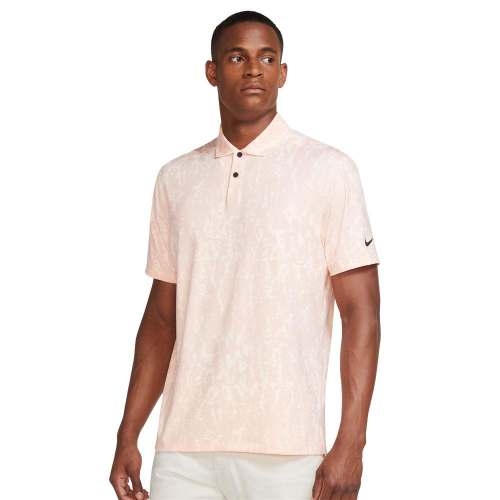 Nike Dri-Fit Vapor Golf Polo Shirt  - Arctic Orange/Black