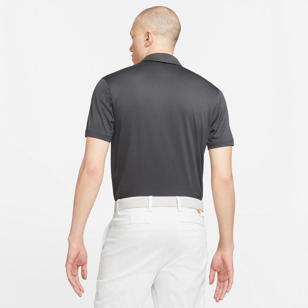 Nike Dri-Fit Vapor Jacquard Golf Polo Shirt  - Black