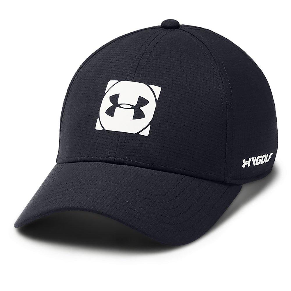 Under Armour Golf Official Tour 3.0 Mens Baseball Cap  - Black/White