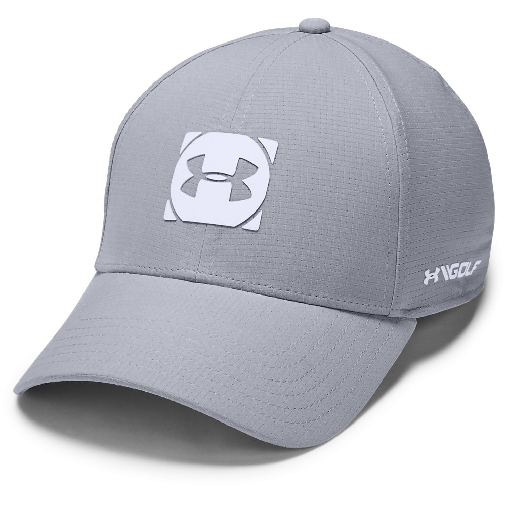 Under Armour Golf Official Tour 3.0 Mens Baseball Cap  - Mid Grey