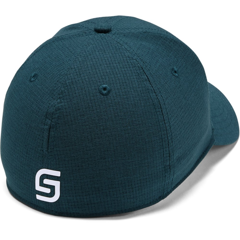 Under Armour Golf Official Tour 3.0 Mens Baseball Cap  - Tandem Teal/White