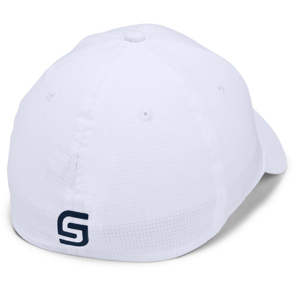 Under Armour Golf Official Tour 3.0 Mens Baseball Cap  - White/Academy