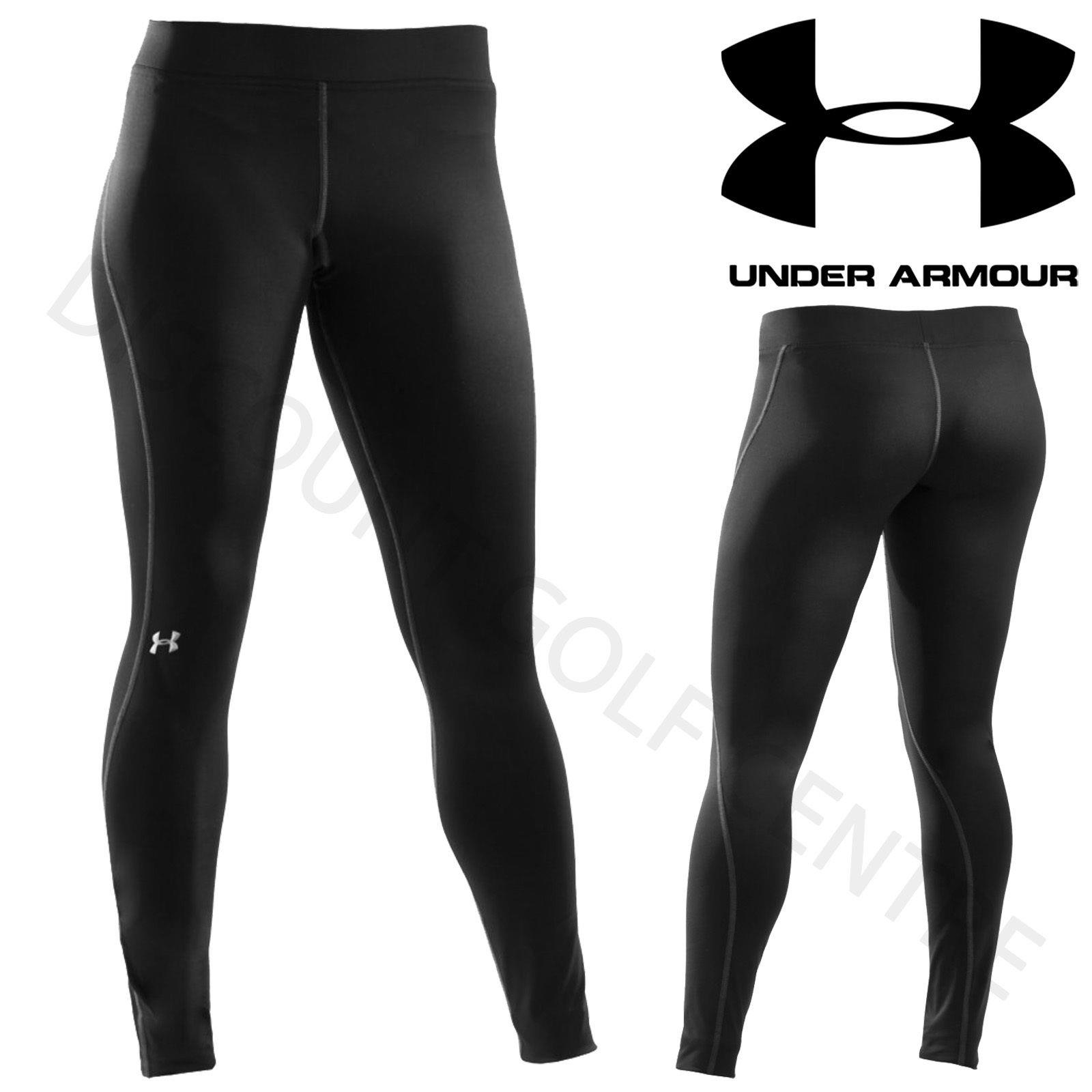 Under Armour Women's Authentic ColdGear Compression Ladies Leggings 1250277