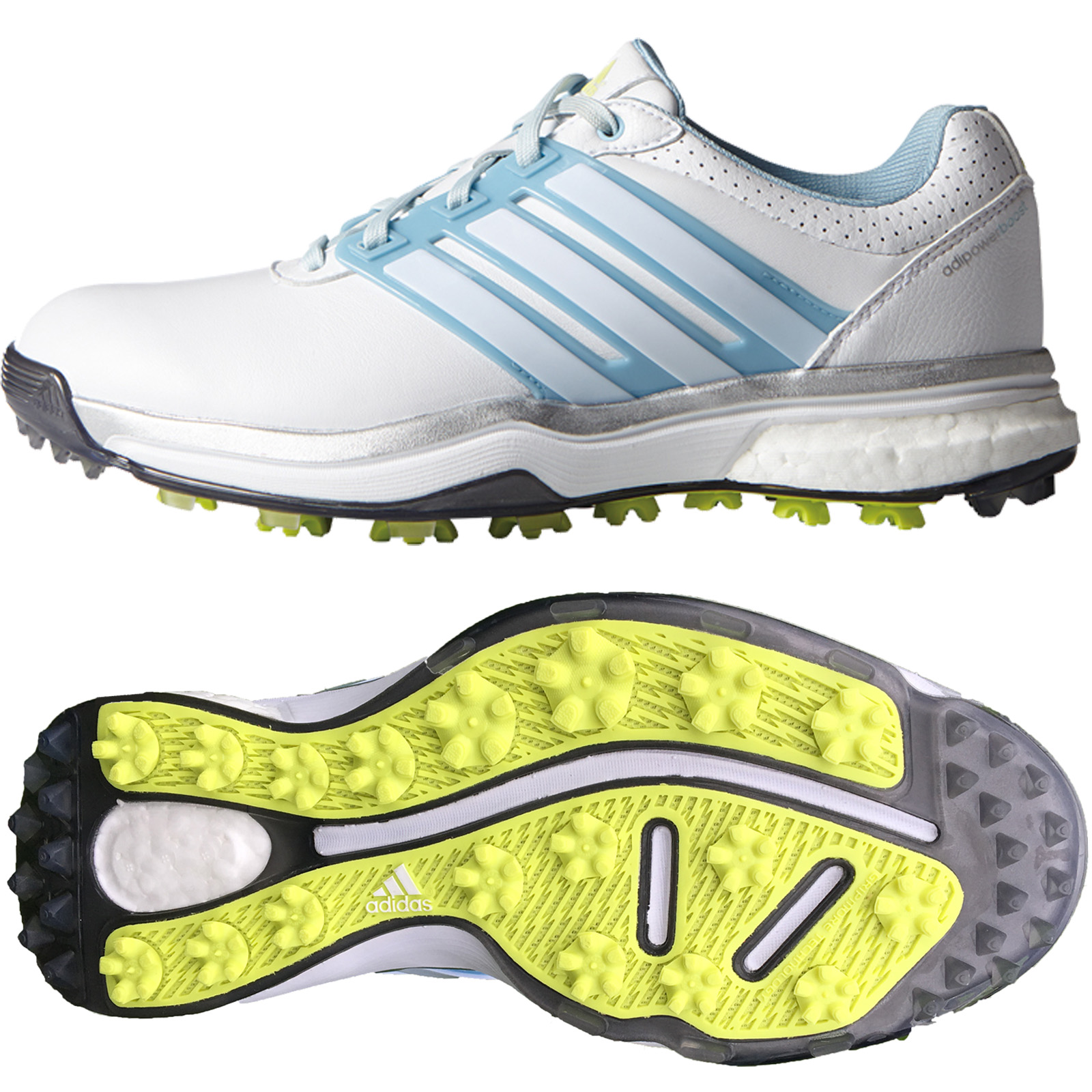 adidas Clearance Womens Adipower Boost II Waterproof Golf Shoes ... 53d401dce