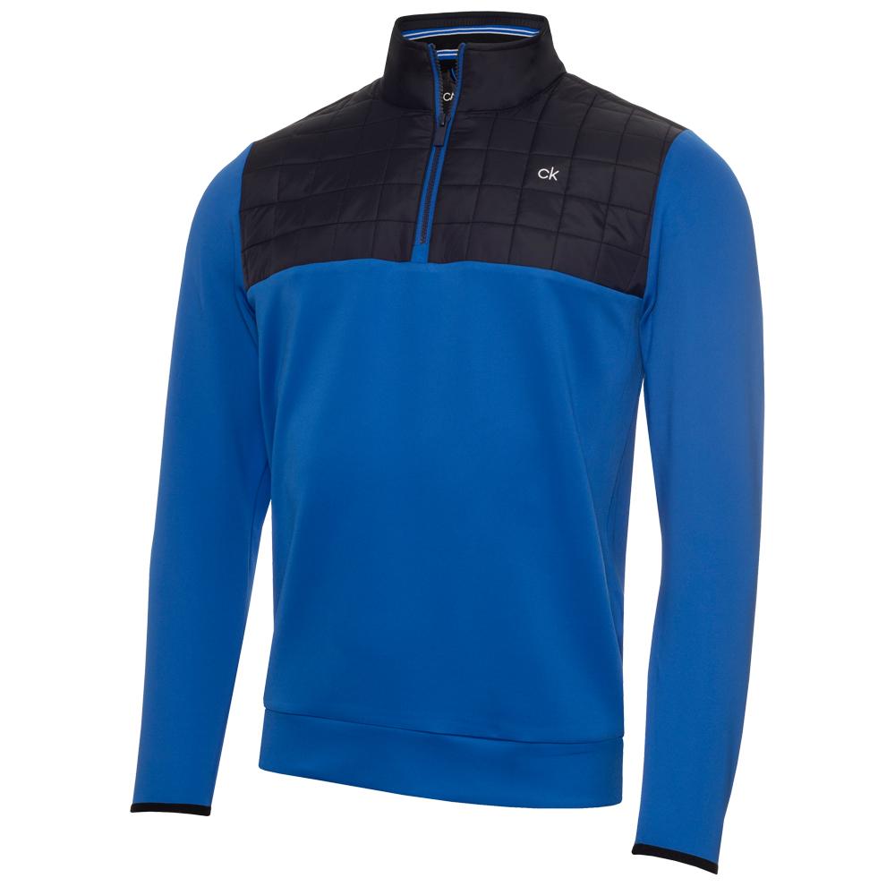 Calvin Klein Golf Vardon Hybrid Half Zip Golf Pullover  - Nautical